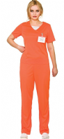 Orange Convict Costume (EF2230)